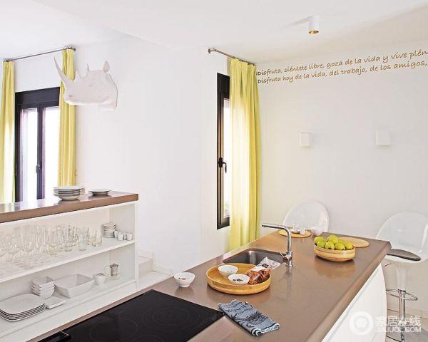黄绿色带来的舒爽家居 让活力完美展现