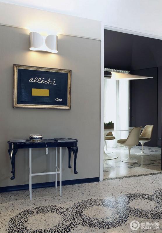 一套艺术范儿家居 独一无二的瓷砖地板