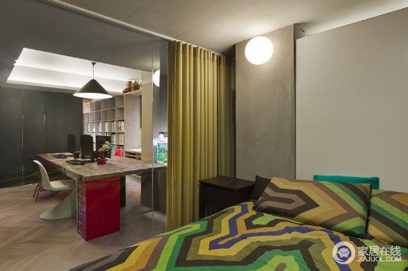 兼具生活与工作 超赞的一套样板房设计