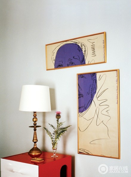 Roger Vivier创意总监的家 新奇活泼的设计