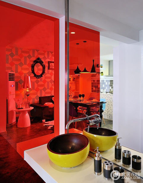 混搭色彩使氛围更活泼 时尚辣妈该有的家