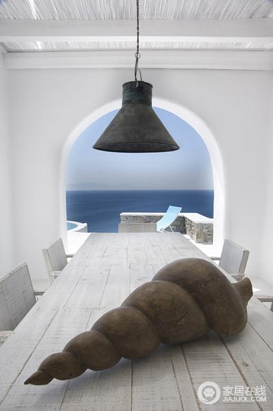全白的地中海风格别墅 让你享受完美假期