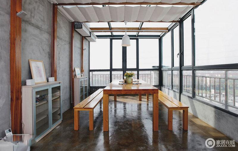 全开放式家居设计 无阻隔式的随性美