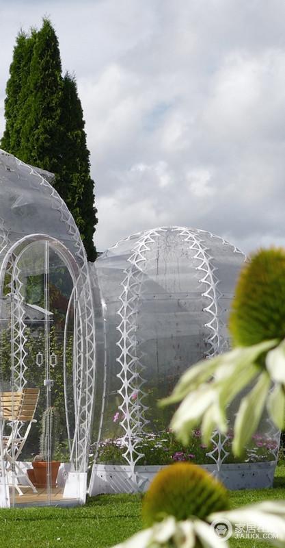 哥本哈根隐形的花园温室 健康创意家居