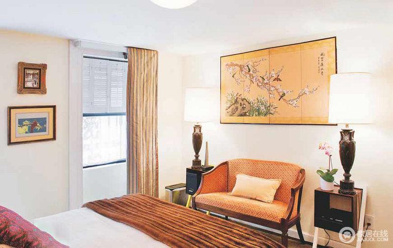 复古时尚家居设计 迷人的家具与装饰