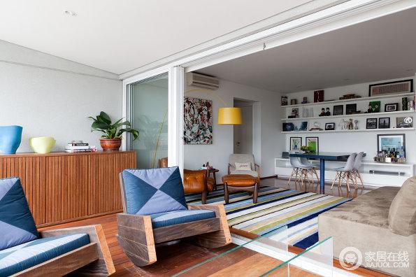 白色现代风家居设计 清新明亮的色彩