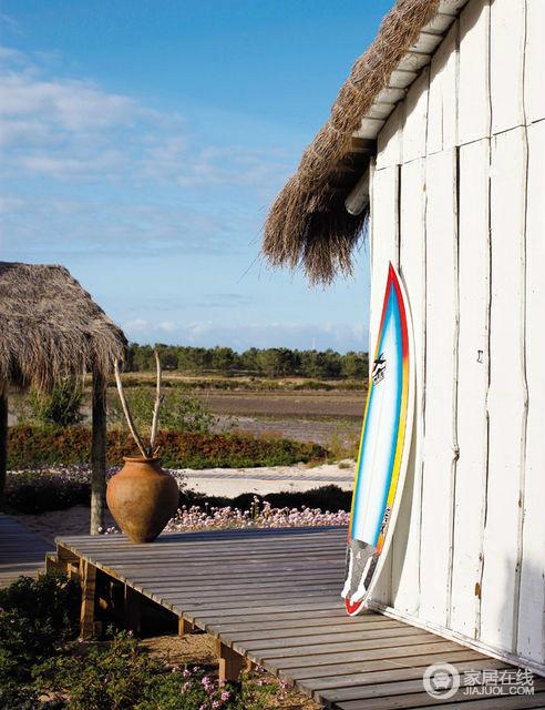 葡萄牙大西洋沿岸农场小屋 乡村风情
