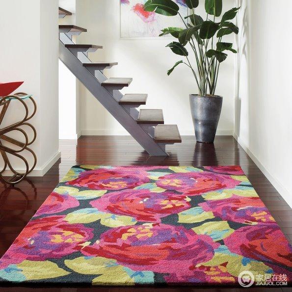 挑一款地毯软装你的家 12款风格元素