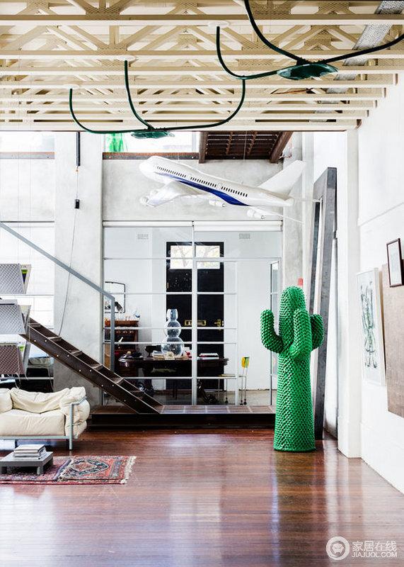 白色调简洁的家居 看似简单却很个性