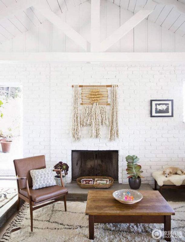拥有6间卧室的白色别墅 乡村自然风格