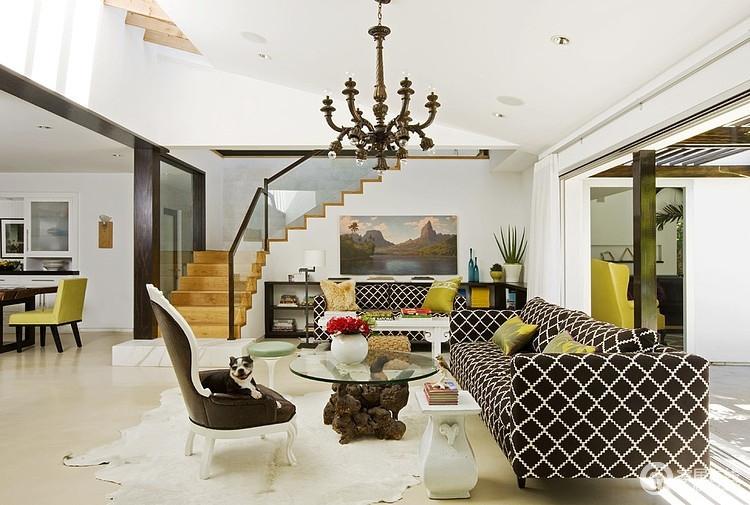 别墅装修案例 明亮清新的家居住宅