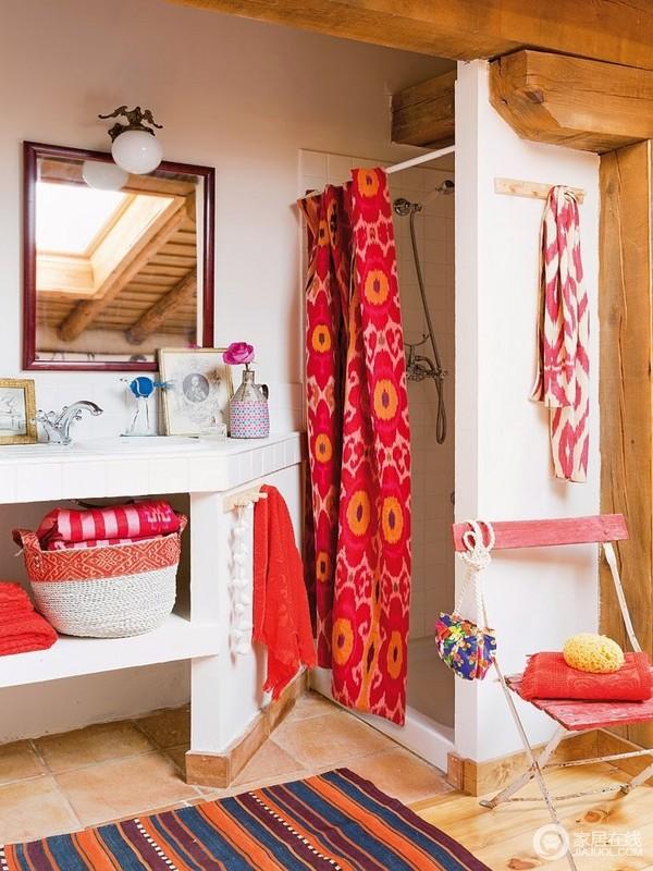 田园的家居风格 温暖人心的色彩空间