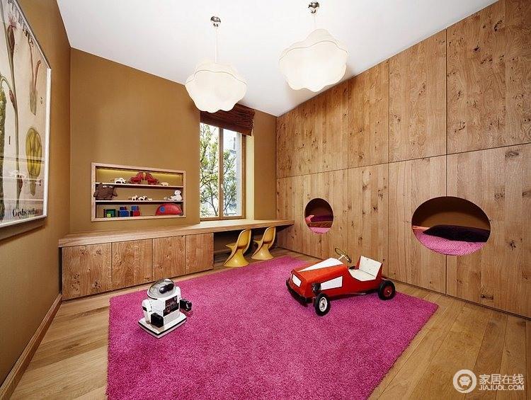 超有创意的阁楼设计 儿童房极有特色