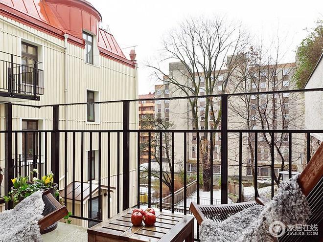 79平米清新复古风两居室 通透明亮的家