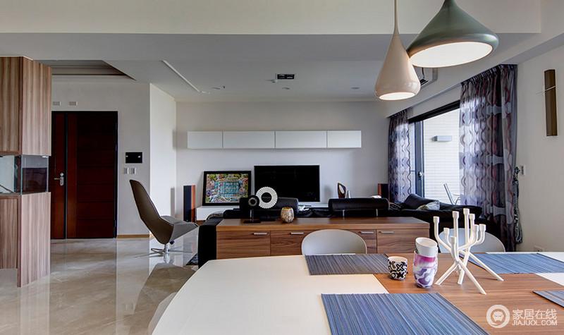 58平米现代简约风住宅 宽敞明亮的家