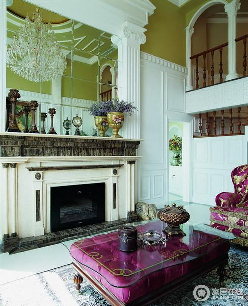 让空间奢华而恬淡的古典风格