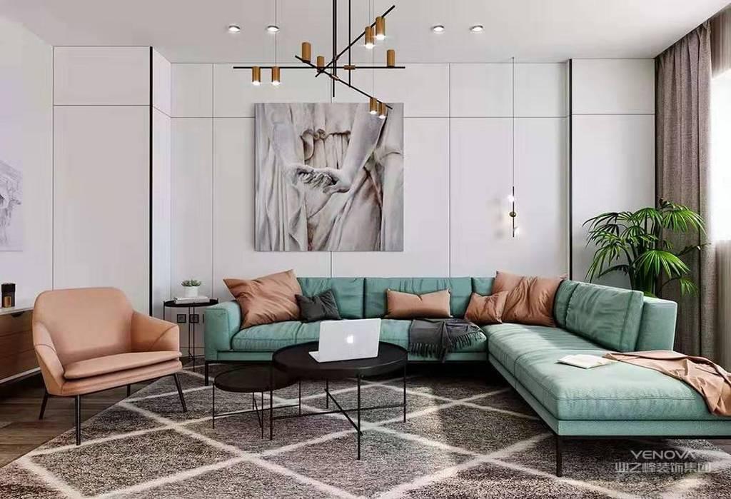 美式风格设计理念表现为追求华丽、高雅的古典风格。