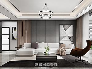 永尚润城-三居室142平米-现代风格赏析