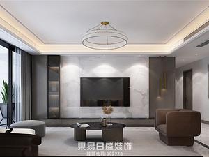 瀾泊灣-150平米三居室-現代風格案例