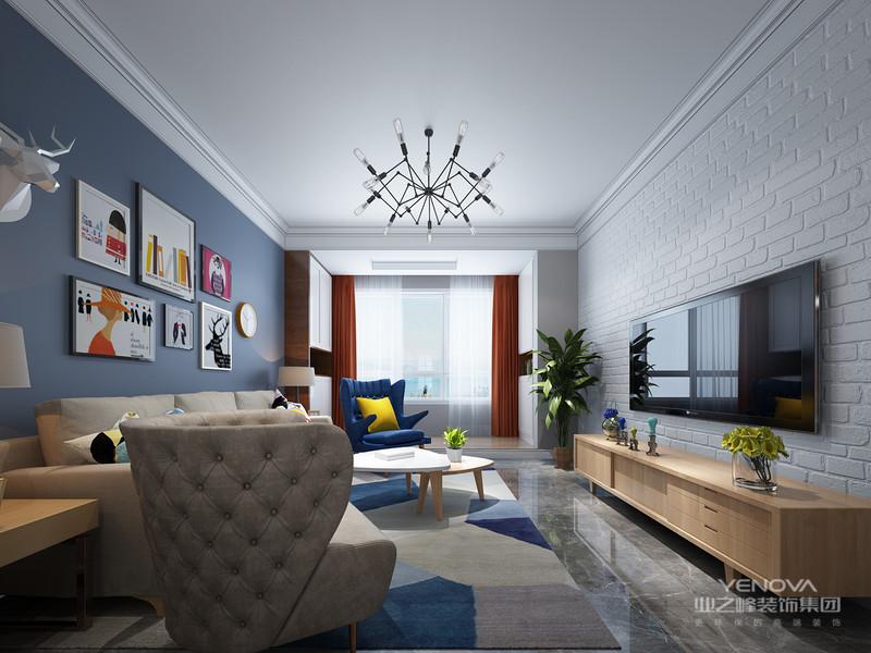 北欧风格家具里的一大特色,简单的原木,是与北欧风简洁精神契合的设计,令空间更加清新舒适。