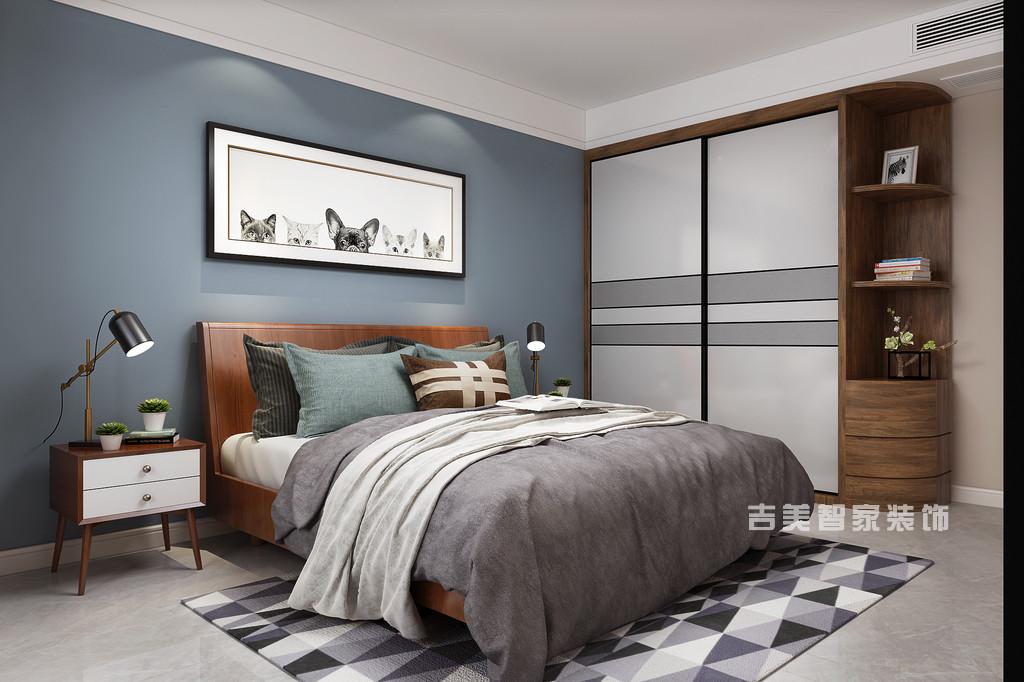 恒基·都市森林-现代简约-卧室