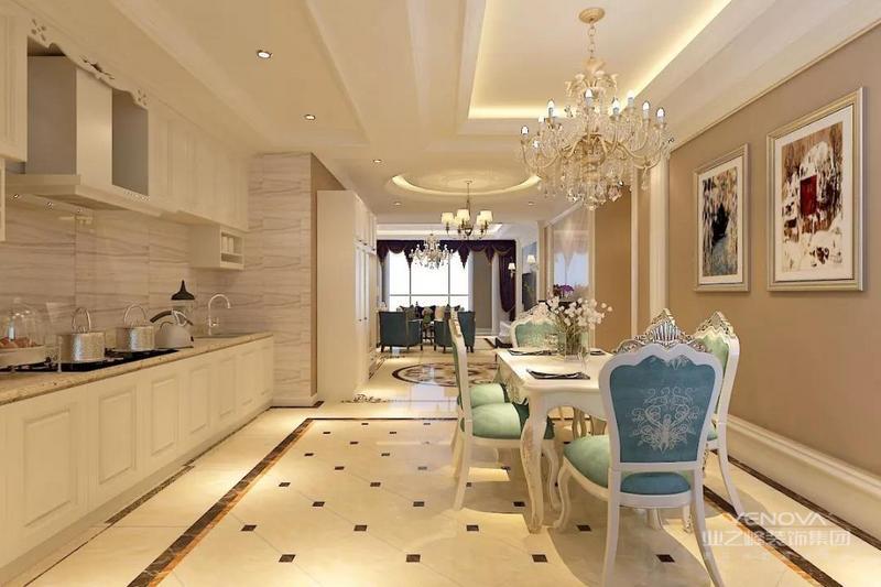 欧式古典奢华空间的氛围营造,融入古典的典雅庄重,欧式浓郁的浪漫情调。