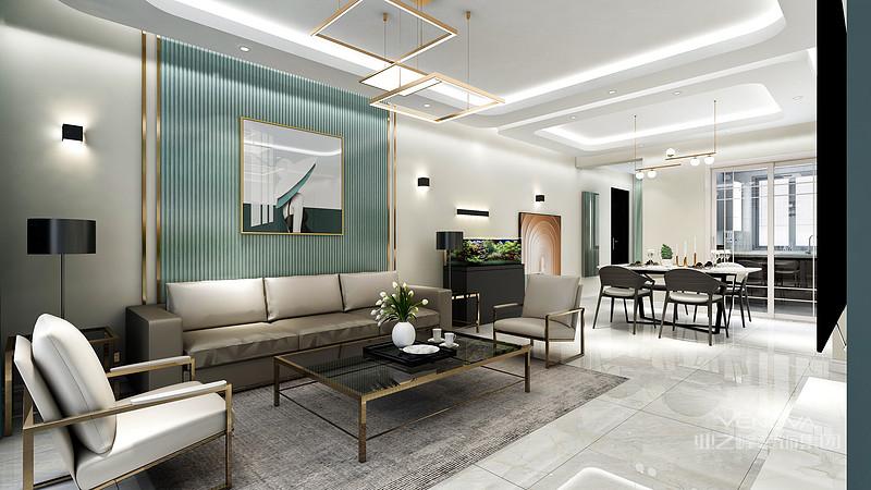现代风格装修深受着年轻人的喜爱,它以简洁舒适的风格体现出现代风格的基本特点.