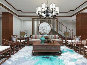 恒基上城-别墅300平米-中式风格赏析