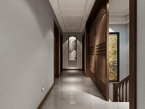 新中式风格门厅装修效果图