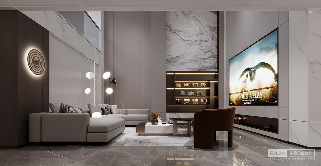 轻奢风格注重设计手法上的简洁、大气,但并非忽视品质和设计感,而是通过材质上的奢华,不着痕迹地透露出对于精致、考究生活的追求。