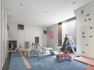现代风格休闲室装修效果图