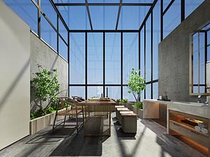 现代风格阳台装修效果图