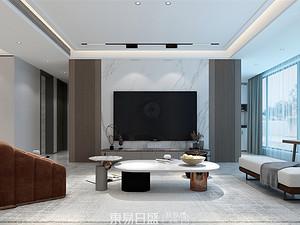 中南樾府-180平米四居室-現代輕奢風格案例賞析