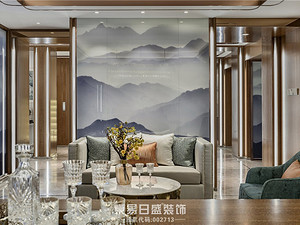 润英美庐-别墅670平米-中式轻奢实景图赏析