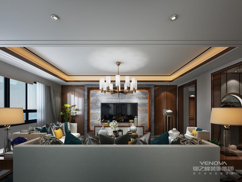 造型别致的新中式风格家具将现代的时尚元素揉进中国传统风格中