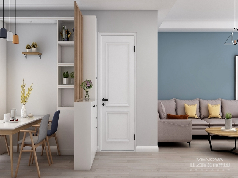 现代简约风格设计中主要体现的就是简约性的设计理念,在房屋装修中,许多人喜欢简约却又时尚的设计,因为这样的设计能体现出房屋主人的个性特质和不同的喜好