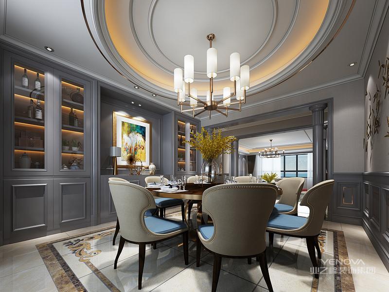 现代轻奢风格,上面的装饰将更简单的现代元素,与古典元素的氛围结合在一起。无论是在软硬服装的布局设计中,还是在色彩图案的使用中,都能体现出这一特点。一般的硬装会比较现代的风格,家具和柔软的衣服都比较倾向古典风格,整体的感觉很时尚、豪华、品味。