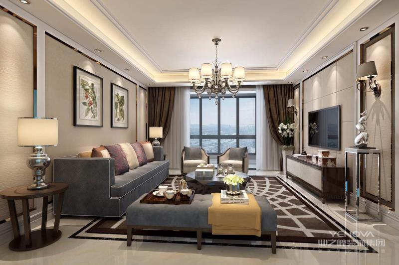 轻奢风格的家居设计有着千万种打造方法,花样繁多的设计更是为我们带来了丰富多彩的时尚风华,或新中式的艺术方雅,或现代简约的大方得体,或个性鲜明的美式法式。总之,每个人对轻奢的居家生活都有自己的理解与追求