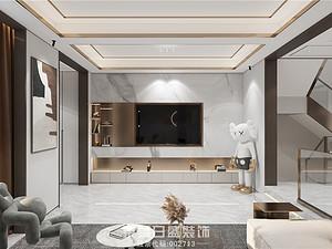 澜泊湾-别墅350平米-现代风格案例