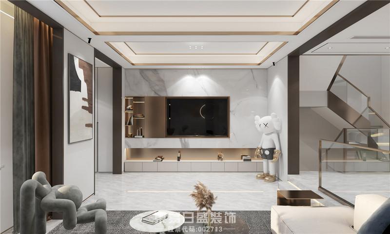 临沂家装公司现代风格-客厅