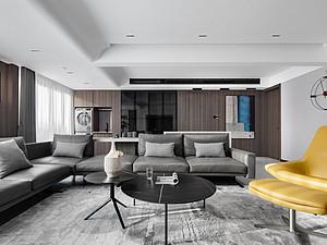 现代简约风格风格客厅装修效果图