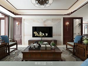 寶德新領域-160平米三居室-古典中式風格案例賞析