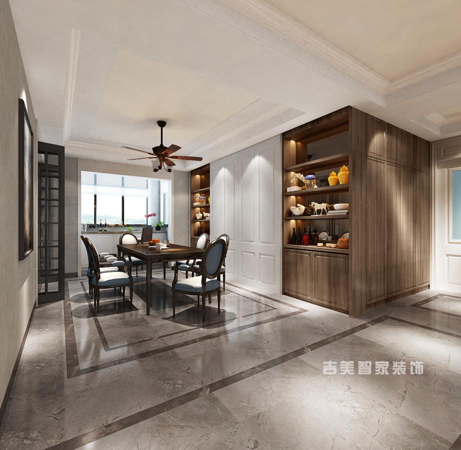 泰安华新山水居-简欧-餐厅