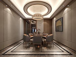 新中式风格风格餐厅装修效果图