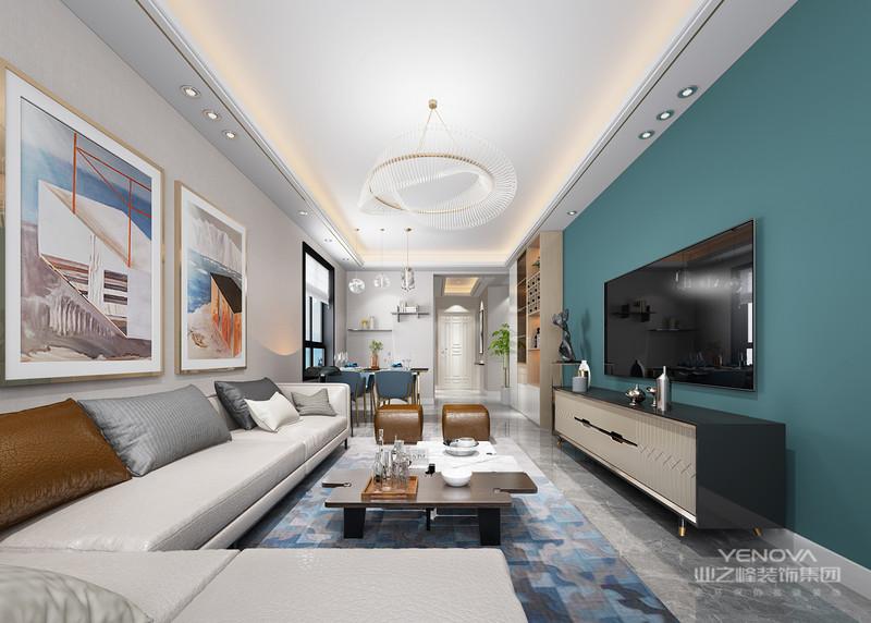 """现代简约风格强调的是""""时尚、实用""""的家居设计理念,但并不仅仅就是整个装修中的简单,而是经过深思之后创新得出的设计的思路的延展"""