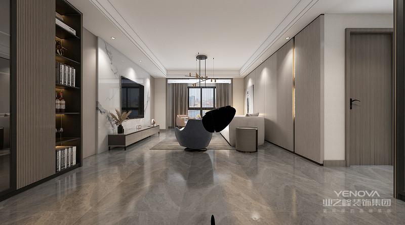 客厅的装修风格 客厅作为待客区域,一般要求简洁明快,同时装修较其它空间要更明快光鲜