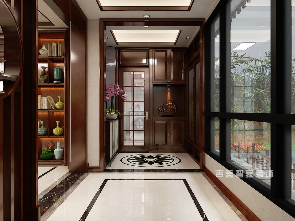 泰安紫荆城-新中式-门厅