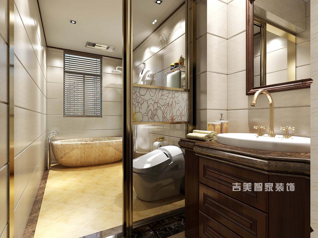 泰安紫荆城-新中式-卫生间