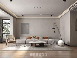 奧正誠園-260平米復式-侘寂風效果案例