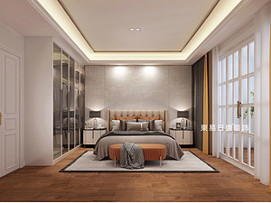 简约风格卧室装修效果图
